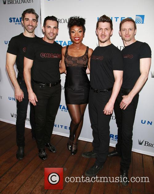 Brandy Norwood and Cast Of Chicago 9