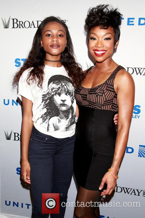 Brennyn Lark and Brandy Norwood 2