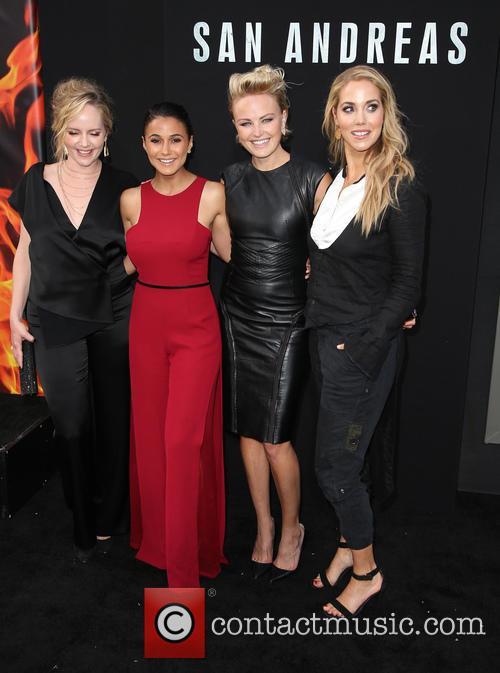 Marley Shelton, Emmanuelle Chriqui, Malin Akerman and Elizabeth Berkley 5
