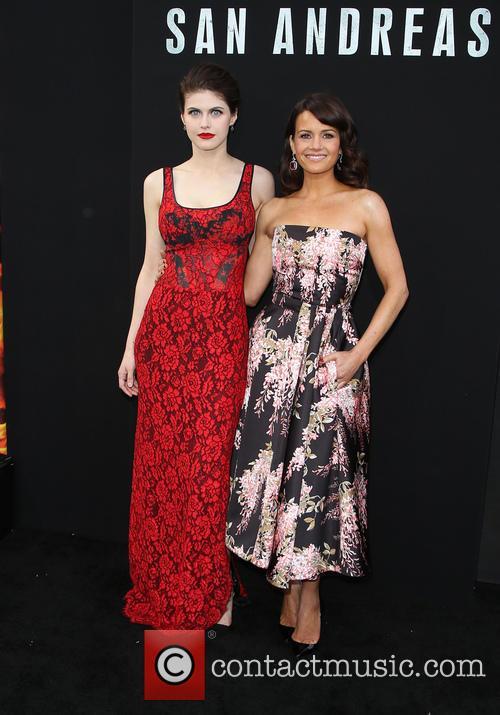 Alexandra Daddario and Carla Gugino 1