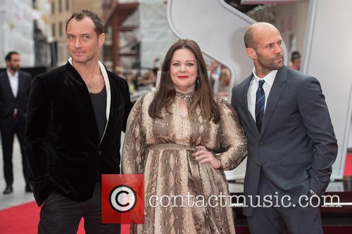 Jude Law, Melissa Mccarthy and Jason Statham 2
