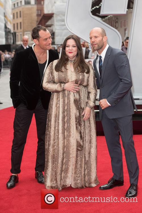 Jude Law, Melissa Mccarthy and Jason Statham 10