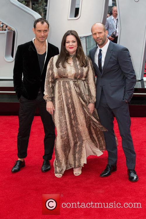 Jason Statham, Jude Law and Melissa Mccarthy 2