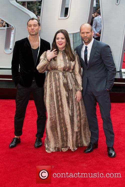 Jason Statham, Jude Law and Melissa Mccarthy 3