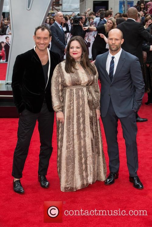 Jason Statham, Jude Law and Melissa Mccarthy 4