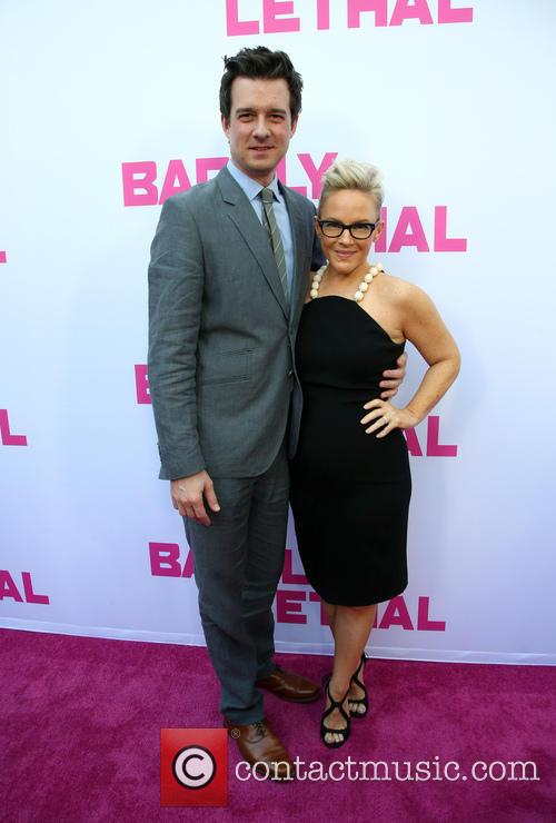 Christian Hebel and Rachael Harris 3