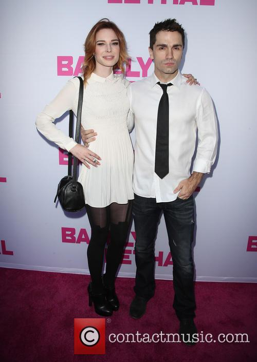 Chloe Dykstra and Sam Witwer 2