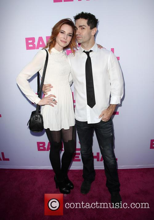 Chloe Dykstra and Sam Witwer 4