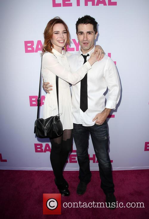 Chloe Dykstra and Sam Witwer 8
