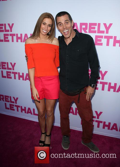 Stacey Solomon and Steve-o 3