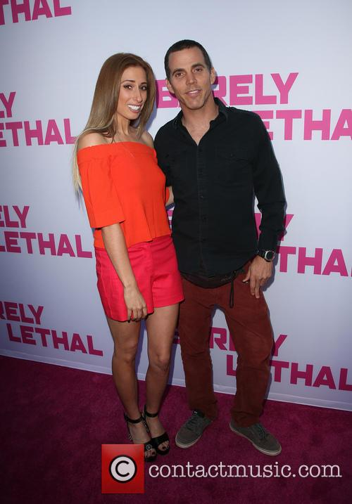 Stacey Solomon and Steve-o 5
