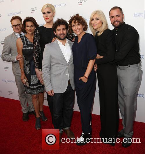 Bradley Whitford, Alexandra Billings, Guest, Jill Soloway, Judith Light and Ian Harvie 2