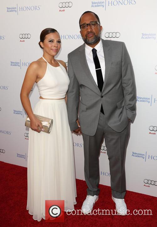 Dr. Rainbow Edwards-barris and Kenya Barris 1