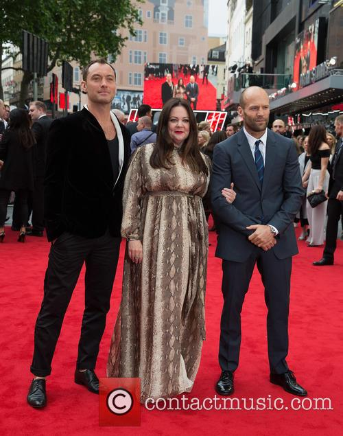 Jude Law, Melissa Mccarthy and Jason Statham 4