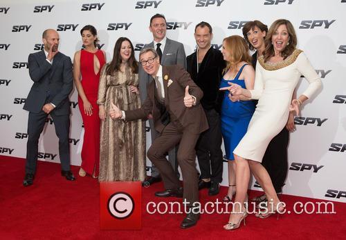 Jason Statham, Nargis Fakhri, Melissa Mccarthy, Peter Serafinowicz, Paul Feig, Jude Law, Jessica Chaffin, Miranda Hart and Allison Janney 3