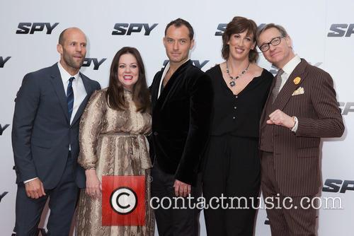 Jason Statham, Melissa Mccarthy, Jude Law, Miranda Hart and Paul Feig 4