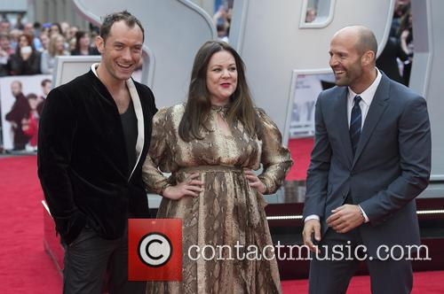 Jude Law, Melissa Mccarthy and Jason Statham 8