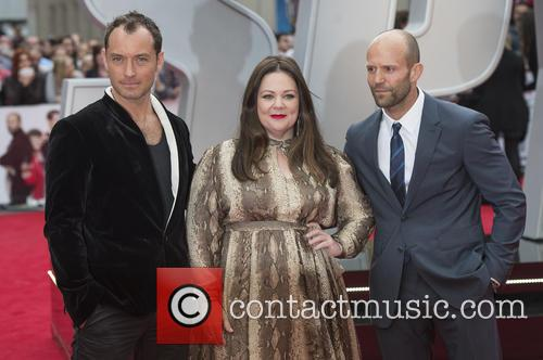 Jude Law, Melissa Mccarthy and Jason Statham 9