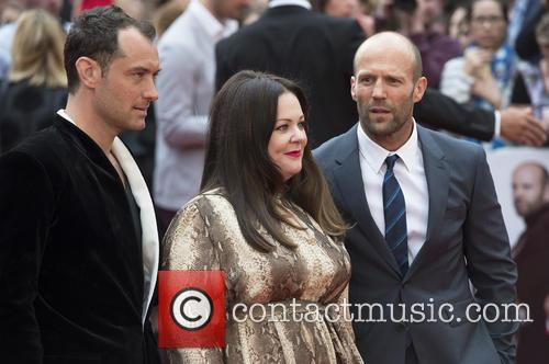 Jude Law, Melissa Mccarthy and Jason Statham 11
