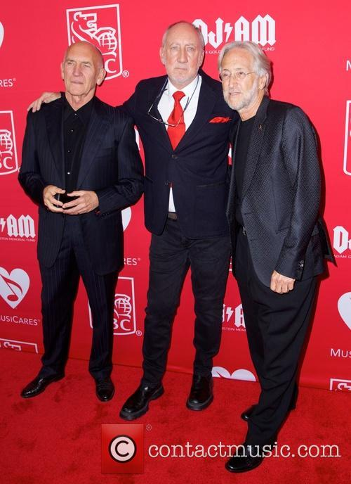 Bill Curbishley, Pete Townshend and Nick Fradiani 2