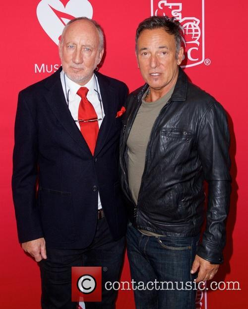 Pete Townshend and Bruce Springsteen 3