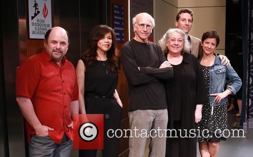 Jason Alexander, Rosie Perez, Larry David, Jayne Houdyshell, Ben Shenkman and Anna D. Shapiro 11