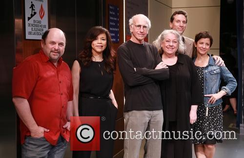 Jason Alexander, Rosie Perez, Larry David, Jayne Houdyshell, Ben Shenkman and Anna D. Shapiro