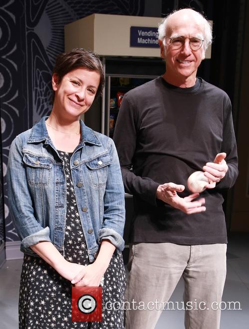 Anna D. Shapiro and Larry David 3