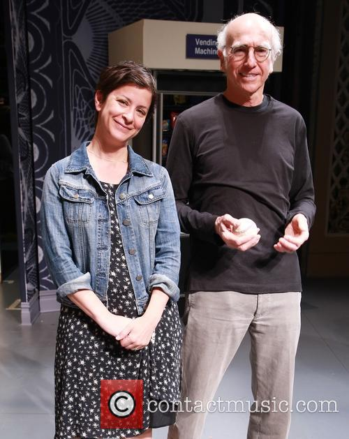 Anna D. Shapiro and Larry David 1