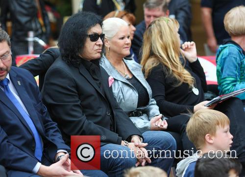 Sheila Lamb and Gene Simmons 2