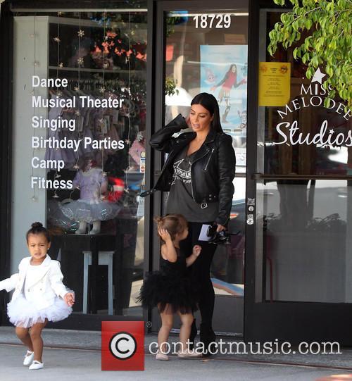 Kim Kardashian, Nori West and Penelope Disick 3