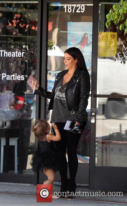 Kim Kardashian, Nori West and Penelope Disick 4