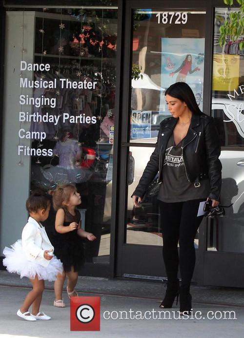 Kim Kardashian, Nori West and Penelope Disick 5