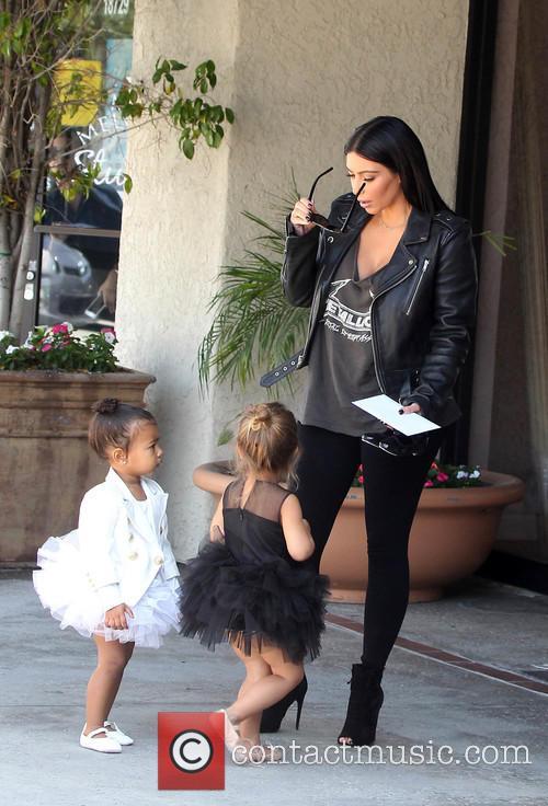 Kim Kardashian, Nori West and Penelope Disick 9