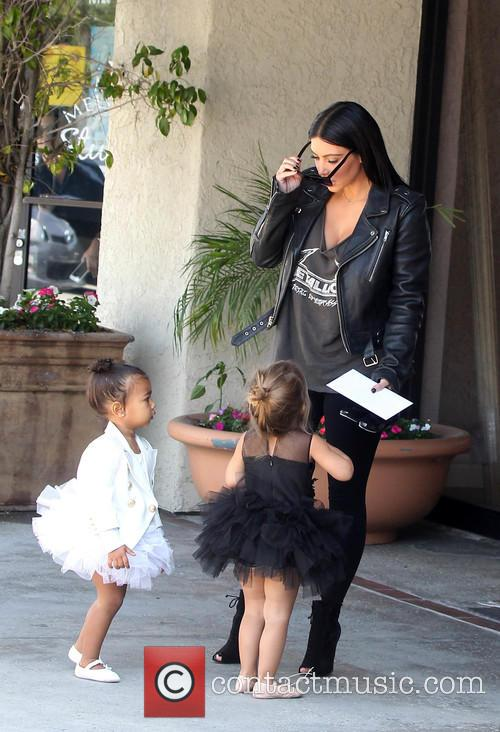 Kim Kardashian, Nori West and Penelope Disick 10