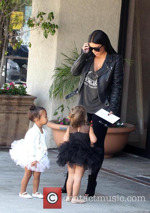 Kim Kardashian, Nori West and Penelope Disick 11