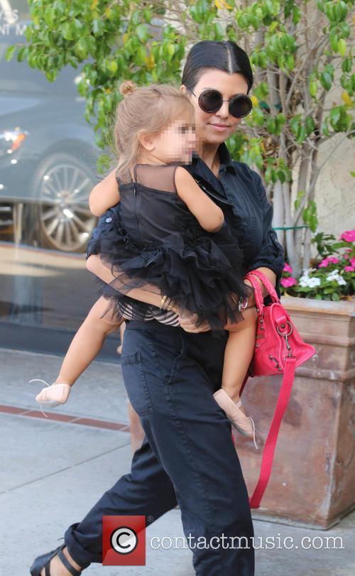 Kourtney Kardashian and Penelope 3