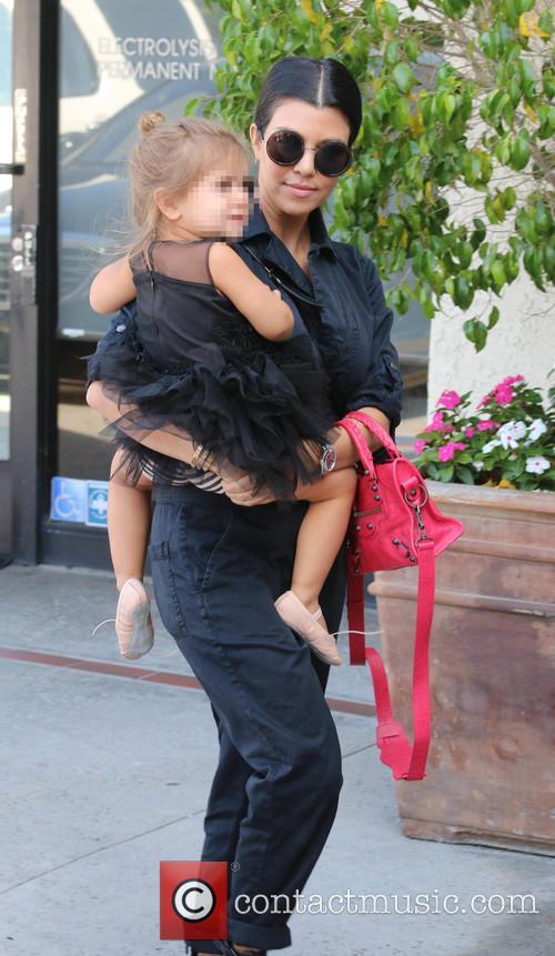 Kourtney Kardashian and Penelope 4