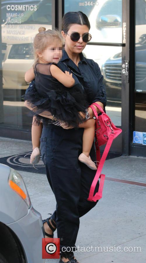 Kourtney Kardashian and Penelope 5