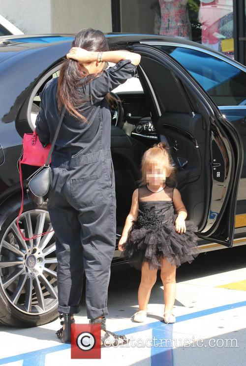 Kourtney Kardashian and Penelope 6