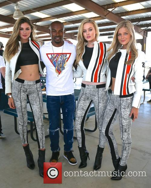 Simone Holtznagel, Danielle Knudson, Natalie Pack and Tyson Beckford 2
