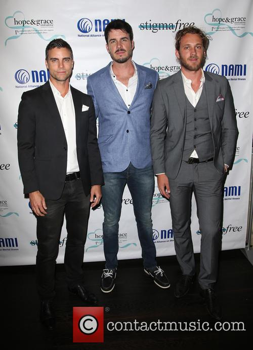 Colin Egglesfield, Drew Metz and Tyler Atkins 5