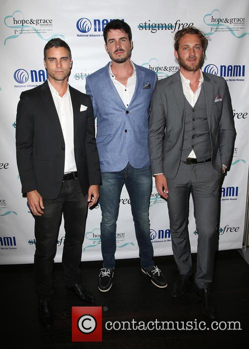 Colin Egglesfield, Drew Metz and Tyler Atkins 6