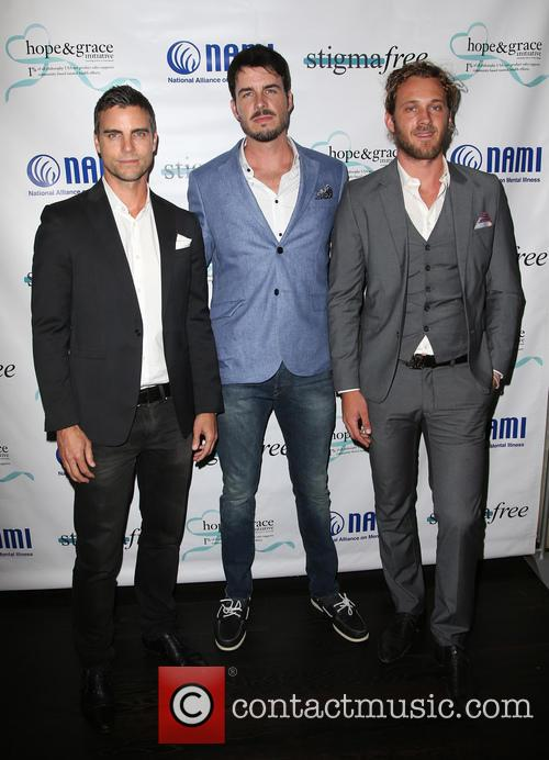 Colin Egglesfield, Drew Metz and Tyler Atkins 7