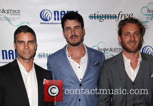 Colin Egglesfield, Drew Metz and Tyler Atkins 1