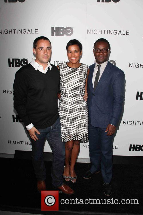 Director, Elliott Lester, Jackie Gagne, Hbo, Actor and David Oyelowo 4
