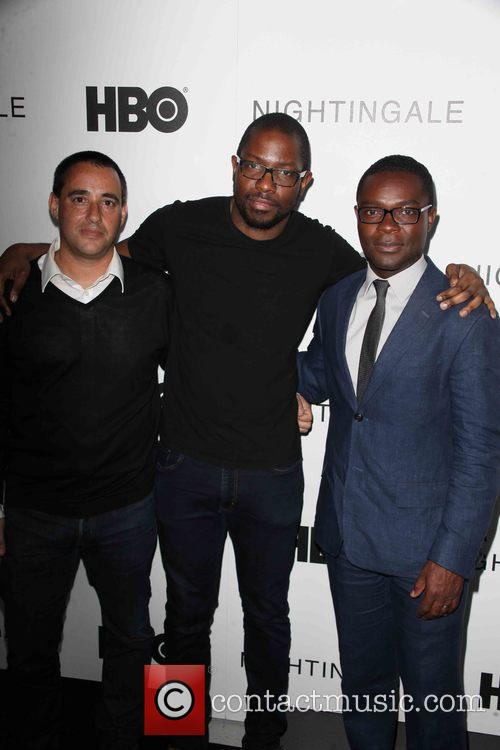 Director, Elliott Lester, Neil Drumming, Moderator and David Oyelowo 6