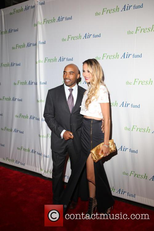 Tiki Barber and Traci Lynn Johnson 3