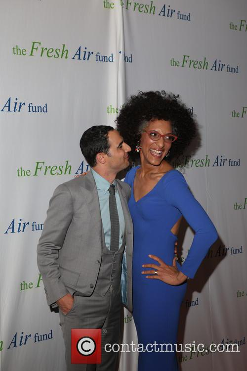 Zac Posen and Chef Carla Hall 2