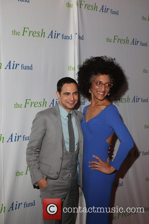 Zac Posen and Chef Carla Hall 3
